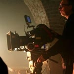 Logan finds Heaven and Hell on location in Prague for Jim Beam
