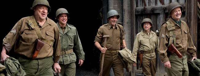 Phenomenal George Clooney Films World War Ii Drama The Monuments Men In Hairstyles For Men Maxibearus