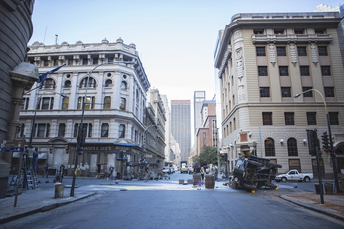 Park Pictures Creates Prohibition Era Us City In