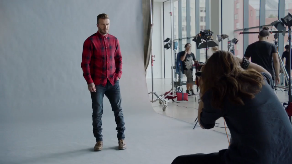 Sonny London films H&M commercial in New York with David ...