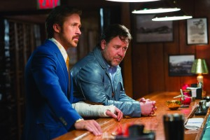 Ryan Gosling and Russell Crowe filmed in Atlanta and Los Angeles for The Nice Guys