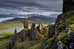 Isle, of, Skye, Background, Scene, View, Landscape, Photo