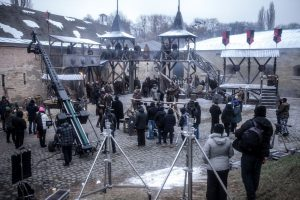 Ukraine, Commercial, Filming, Shoot, Castle, Fortress, HBO, HOT, Game of Thrones