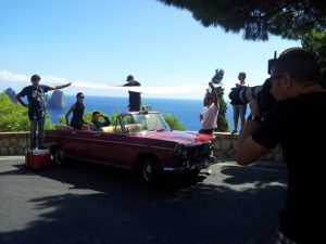 Commercial, Advertising, Capri, Italy, filming, Locations, Production
