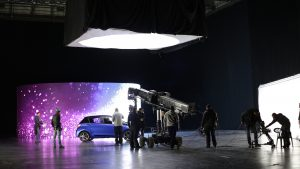 Made in Sofia tackles backlot snowfall in new Toyota Yaris commercial at Nu Boyana Studios
