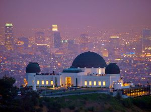 Los Angeles hit by drop in on location filming