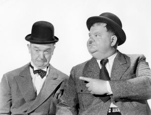 Laurel and Hardy biopic now shooting in the UK's West Midlands
