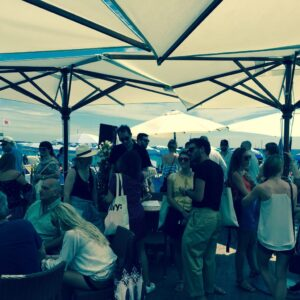 DAVID The Agency partners with The Location Beach Lounge for yoga on the beach at Cannes Lions