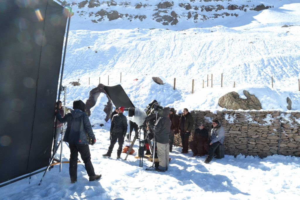 Remi Noiriel, Film, Filming, Chile, Winter, Locations, Cold, Snow, News, Contributor, Article, Production, Industry
