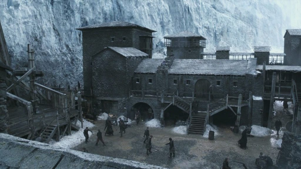 Game of Thrones, HBO, Northern Ireland, Location, Castle Black, Set, Magheramorne Quarry, Production, Industry, Film, Filming, Locations, News