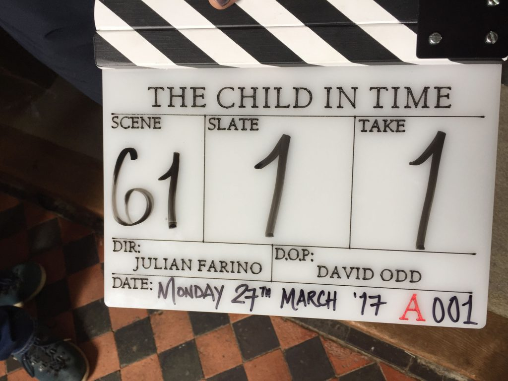 The Child in Time, Benedict Cumberbatch, BBC, One, Ian McEwan, Locations, Film, Filming, News, Articles, Writing, Publishing, Editorial. London, Suffolk