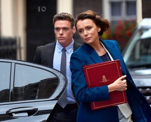 Jed Mercurio's new BBC drama, Bodyguard, now on location in London