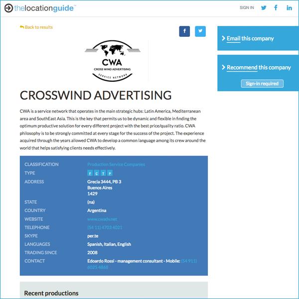Enhanced online listing