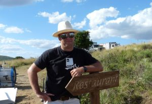 On location in Uruguay with Andres Mailhos - Partner & Exec Producer at El Camino Films