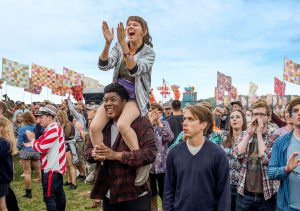 Raucous new coming-of-age comedy The Festival spent ten weeks filming in a Bristolian field