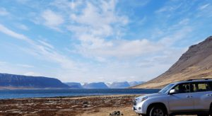 Westfjords, an Icelandic paradise for car shoots