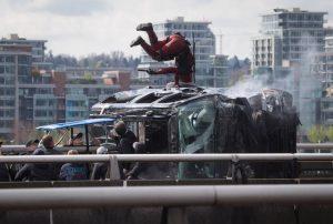 Marvels Deadpool recently filmed in Vancouver
