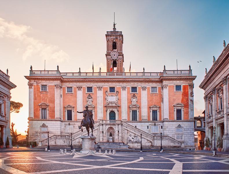 Rome, Capitoline Hill (Campidoglio)