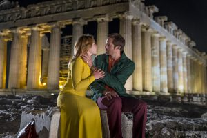 BBC's The Little Drummer Girl shot the ancient Acropolis at night for the first time