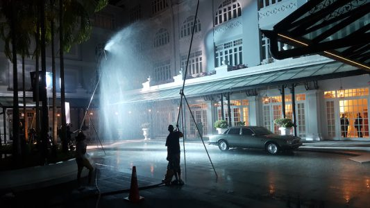 One of the scene in Crazy Rich Asian