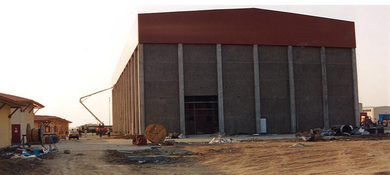 Antalya Studio, in Turkey, under construction.
