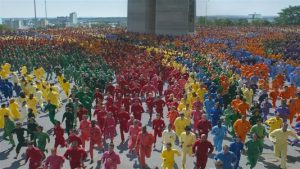 MJZ floods Prague with colour for Apple ad