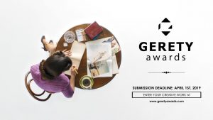 The Gerety Awards Deadline of April 1st is Fast Approaching