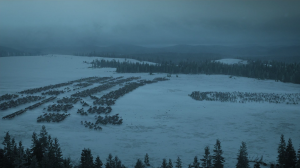 Gruelling night shoots for Game of Thrones
