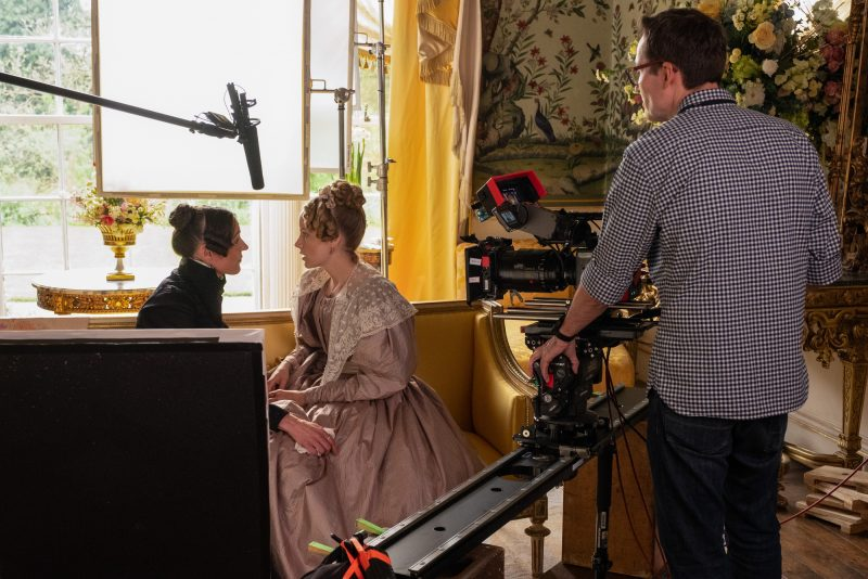 WARNING: Embargoed for publication until 00:00:01 on 21/05/2019 - Programme Name: Gentleman Jack - TX: n/a - Episode: Gentleman Jack - Ep 2 BTS (No. n/a) - Picture Shows: *STRICTLY NOT FOR PUBLCIATION UNTIL 00:01HRS, TUESDAY 21ST MAY, 2019* Anne Lister (SURANNE JONES), Ann Walker (SOPHIE RUNDLE) - (C) Lookout Point/HBO - Photographer: Matt Squire