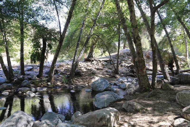 Charlie Utter's Claim San Gabriel River