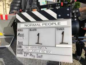 Sally Rooney adaptation Normal People filming on location in Ireland and Italy