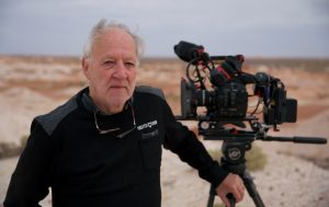 They call me Verner. Location Manager Chris Tangey relates working with the esteemed director in the Australian outback