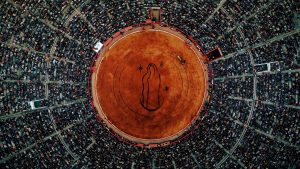 Mexico City captured by drones for Barbican Centre audiovisual project