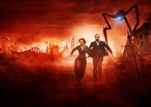 Mammoth Screen's adaptation of H.G. Wells' War of the Worlds filmed on location in Liverpool