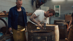 David Beckham explores Scotland's Whisky scene on location with the Haig Club and LS Productions