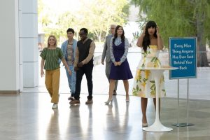 How The Good Place gained access for filming in LA's Getty Centre