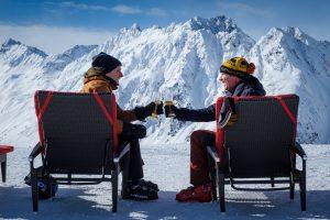 Black comedy Downhill filmed on location in Austria's