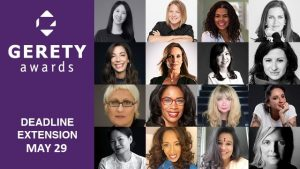Gerety Awards announces a deadline extension and says it will not be accepting Covid-19 related ads