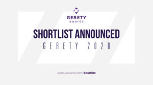 Gerety Awards 2020 announces shortlist with ten UK entries from the UK making the CUT