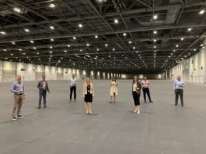 ExCeL London keeps Film industry rolling with 1 million square feet of studio space