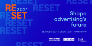 Reset 2021 conference will mark the beginning of a critical year for advertising
