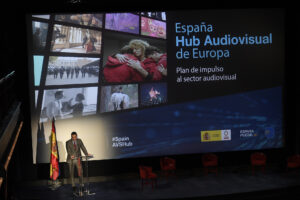 Spain aims for 30% increase in audiovisual production by 2025