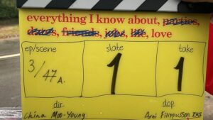Everything I Know About Love prepares for filming in Manchester and London
