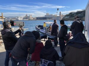 On Location in Marseille with Production Consultant Matthew Parker